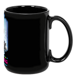 Winning Knight Ceramic Mug - Black