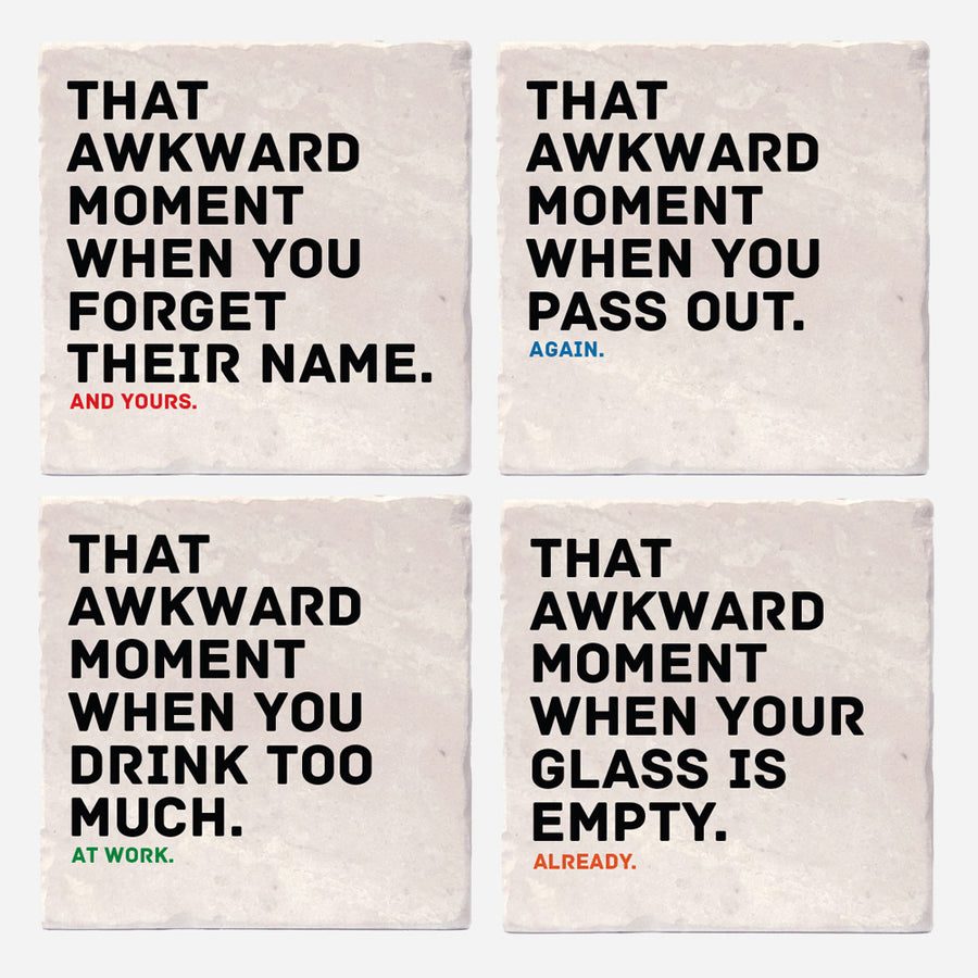 Awkward Moments While Drinking