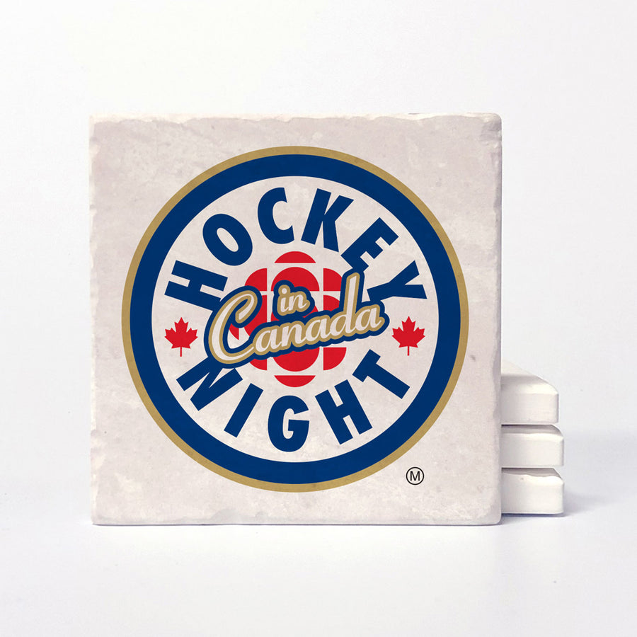 Hockey Night In Canada - Current Logo Coaster