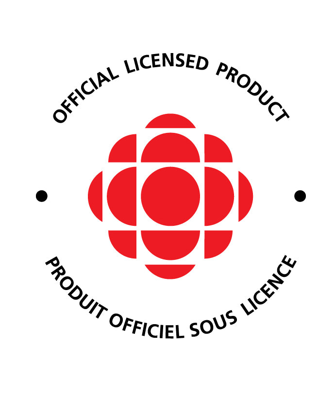 CBC Retro Gem - 1986-1992 Logo Coaster