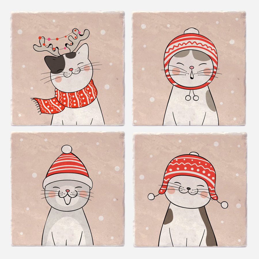 Caroling Kitties
