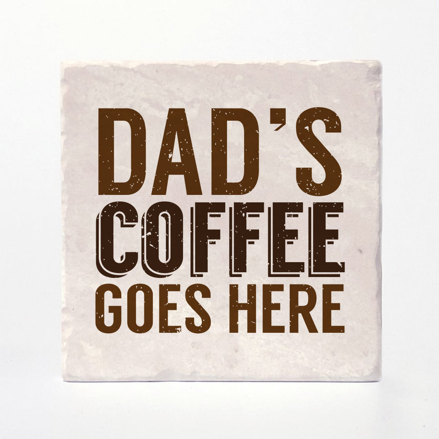 Mom / Dad Coffee Coaster
