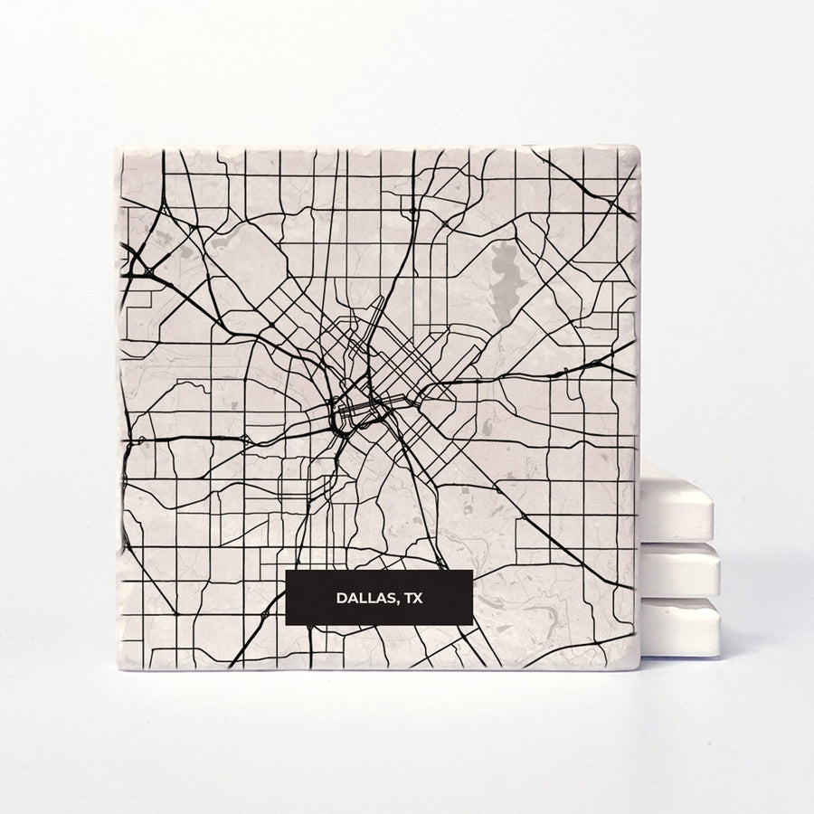 Dallas Modern Map