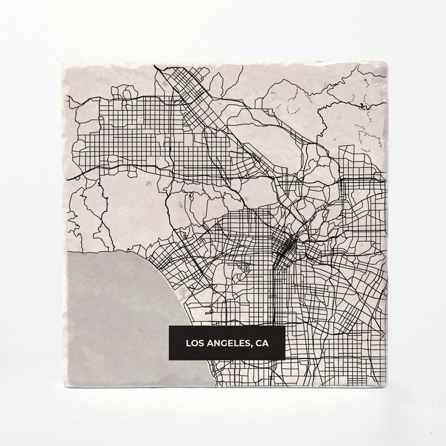 Los Angeles Modern Map