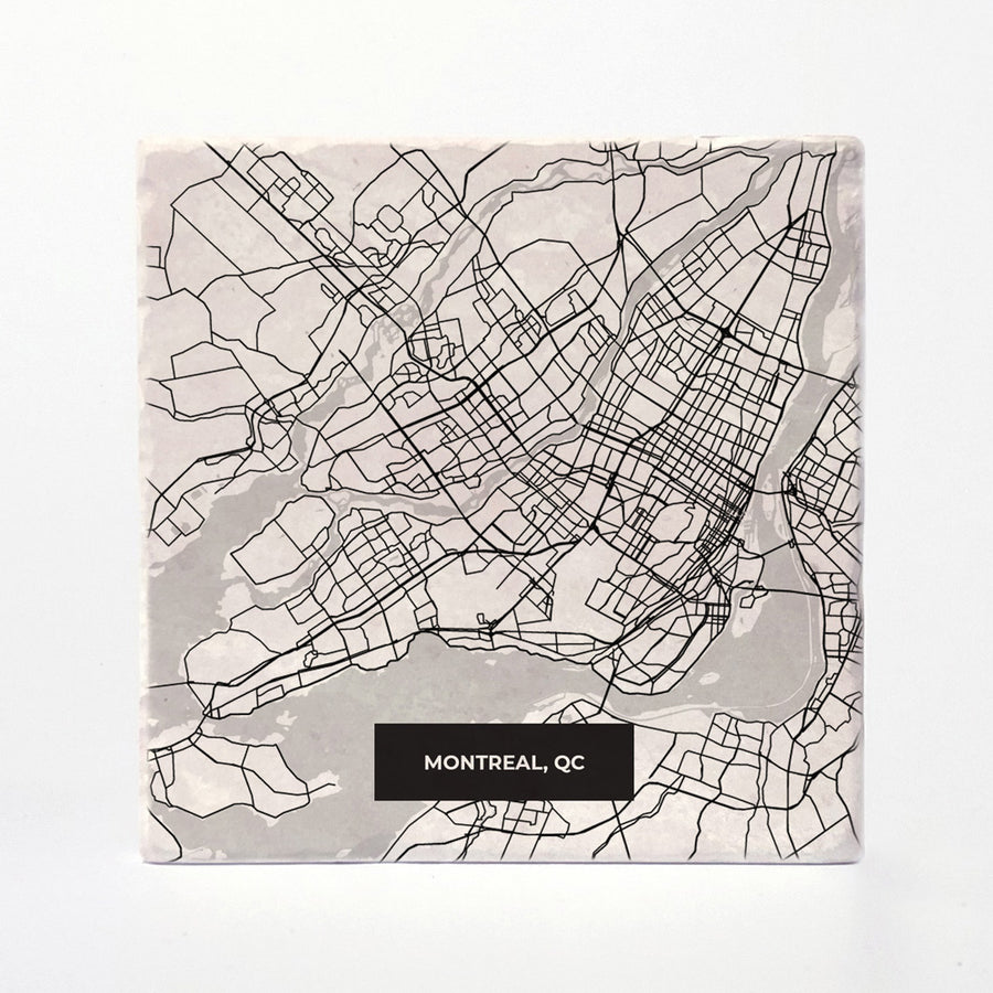 Montreal Modern Map
