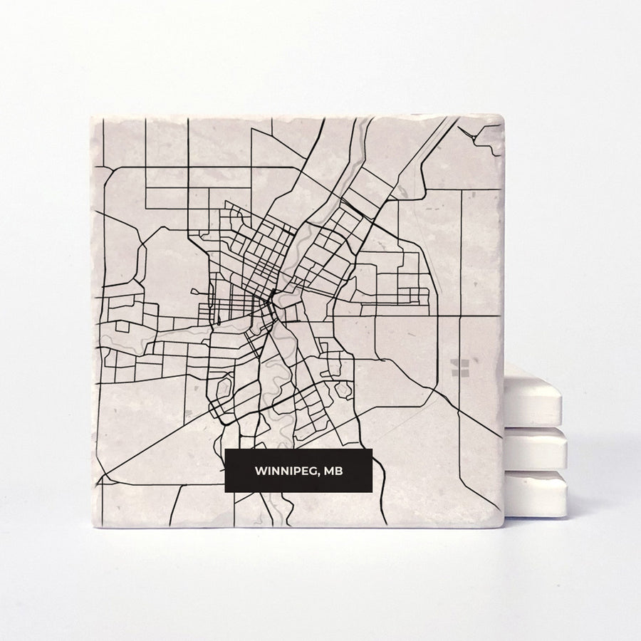 Winnipeg Modern Map