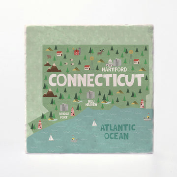 Connecticut State Illustration