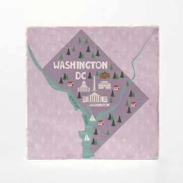 Washington, D.C. City Illustration