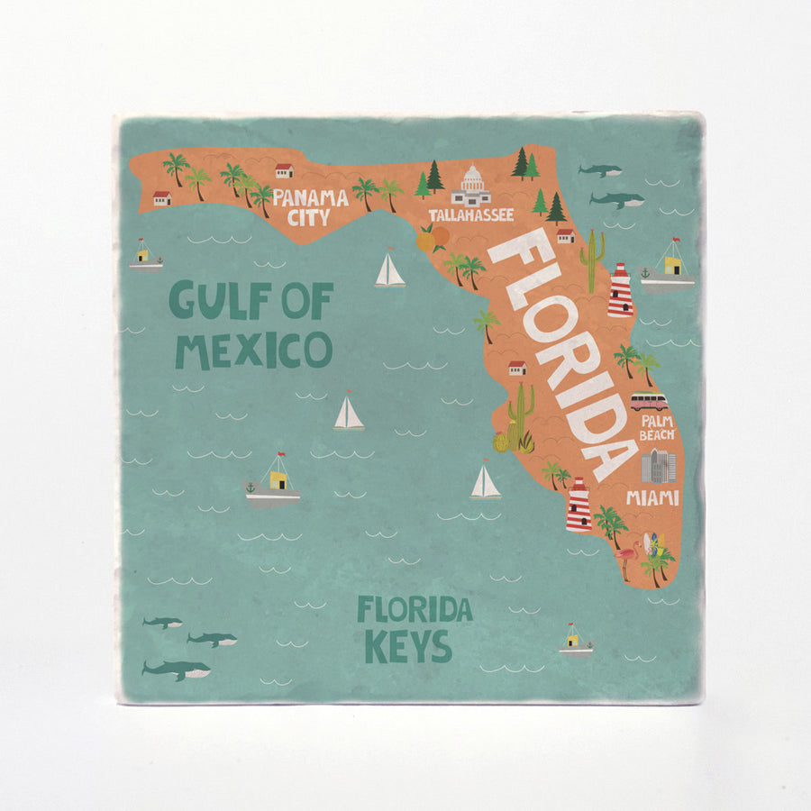 Florida State Illustration