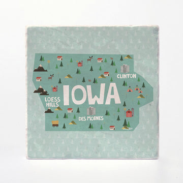 Iowa State Illustration