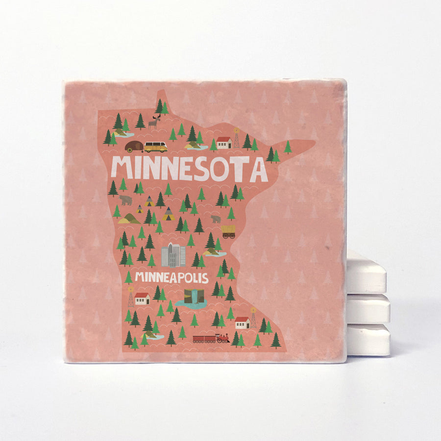 Minnesota State Illustration