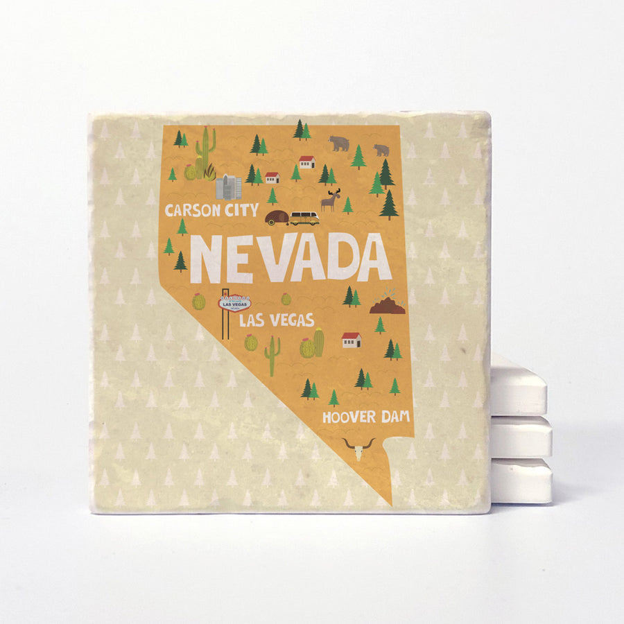 Nevada State Illustration
