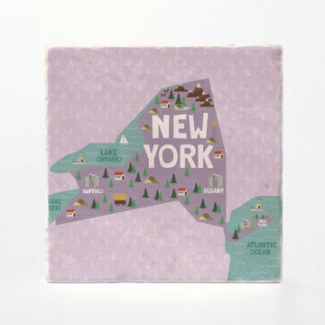 New York State Illustration
