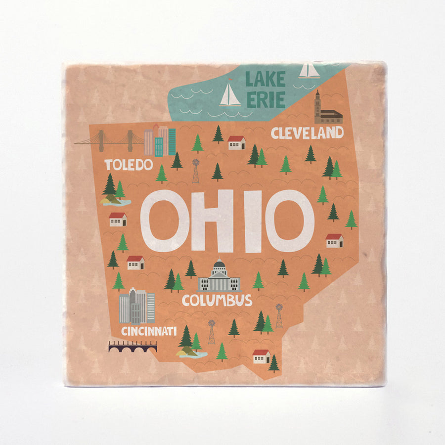 Ohio State Illustration