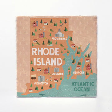Rhode Island State Illustration