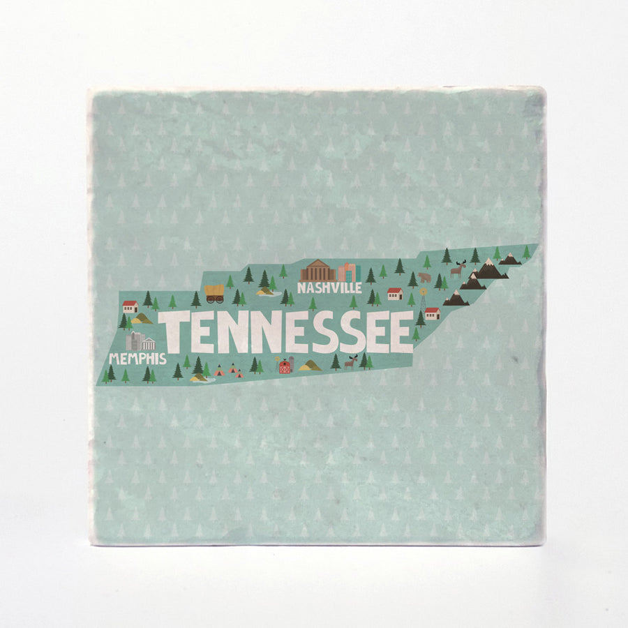 Tennessee State Illustration