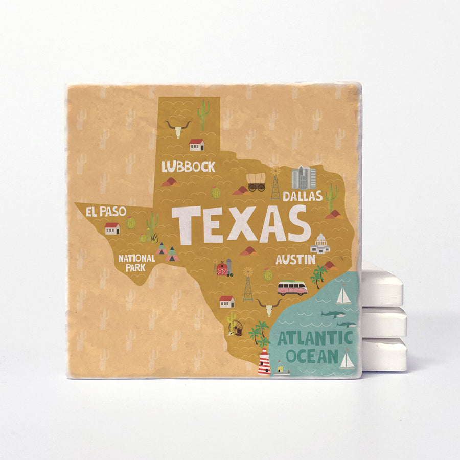 Texas State Illustration