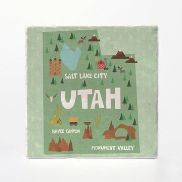 Utah State Illustration