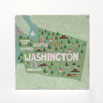 Washington State Illustration