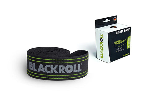 blackroll resist band black for training