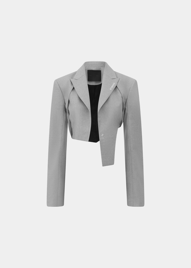 Tailored Cropped Blazer