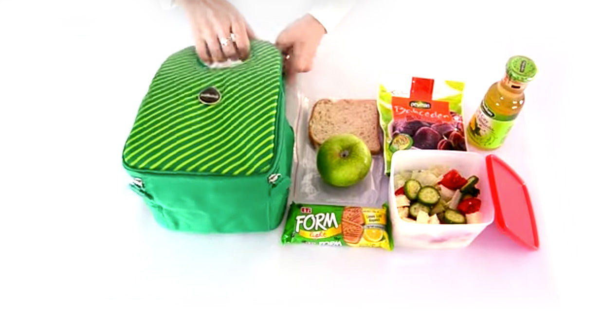 healthy lunch box idea with Stöh insulated lunch tote