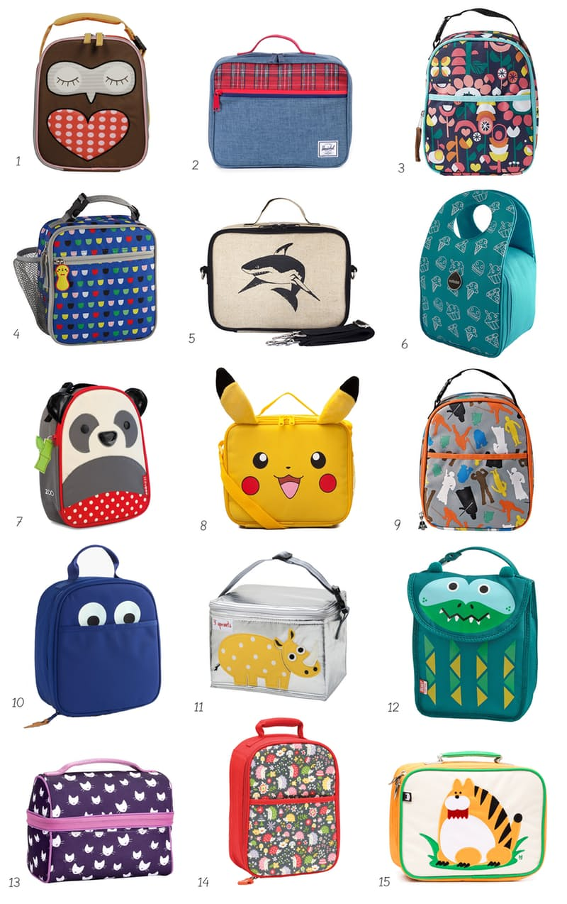 Cutest kids lunch boxes
