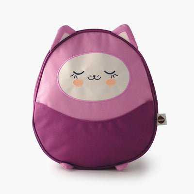 Milkdot purple toddler backpack.
