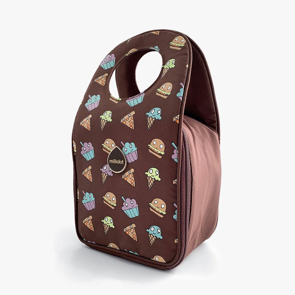 Stöh Lunch Tote | snackmates brown