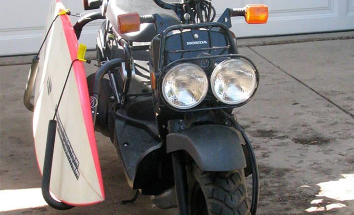 Carver Surf Racks Moped Rack