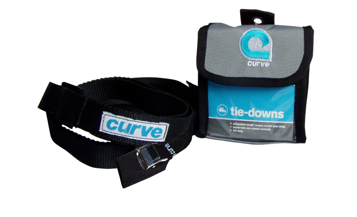 Curve Adjustable Tiedown Straps