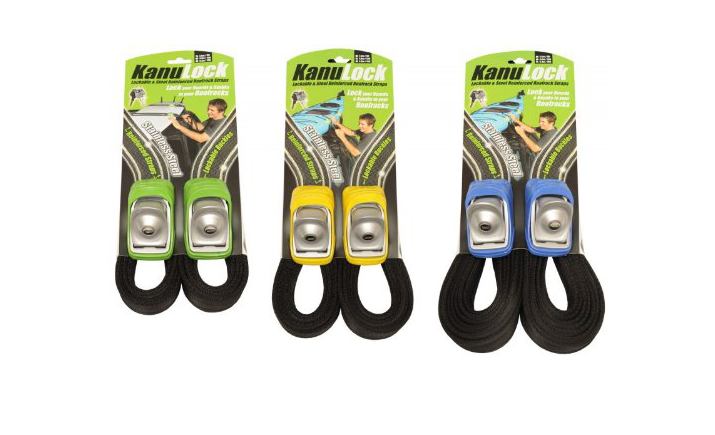 KanuLock Lockable Tie-Down Straps