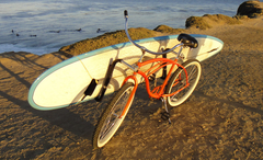 Moved By Bikes Surfboard Rack