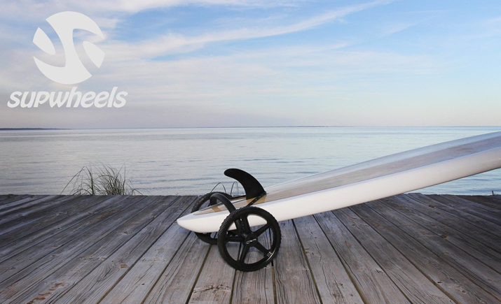 SUP Wheels SUP and Surfboard Trailer