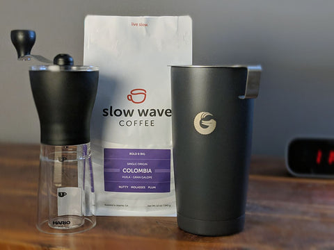 Coffee gear for the Go Getter