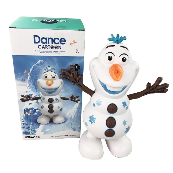 Electric Dancing Music Snowman Toy - UP 50% OFF NOW!