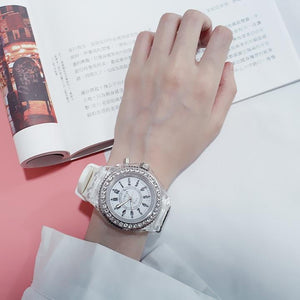 Crystal Geneva Luminous Luxury LED Light Watch