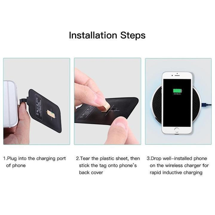 UNIVERSAL WIRELESS CHARGING RECEIVER