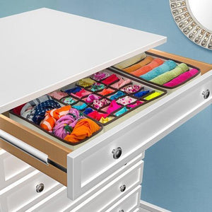 Foldable Closet Underwear Organizer(4 Set)