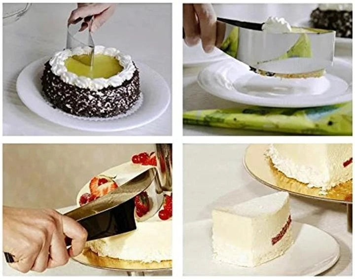 304 Stainless Steel Cake Slicer【BUY MORE SAVE MORE】
