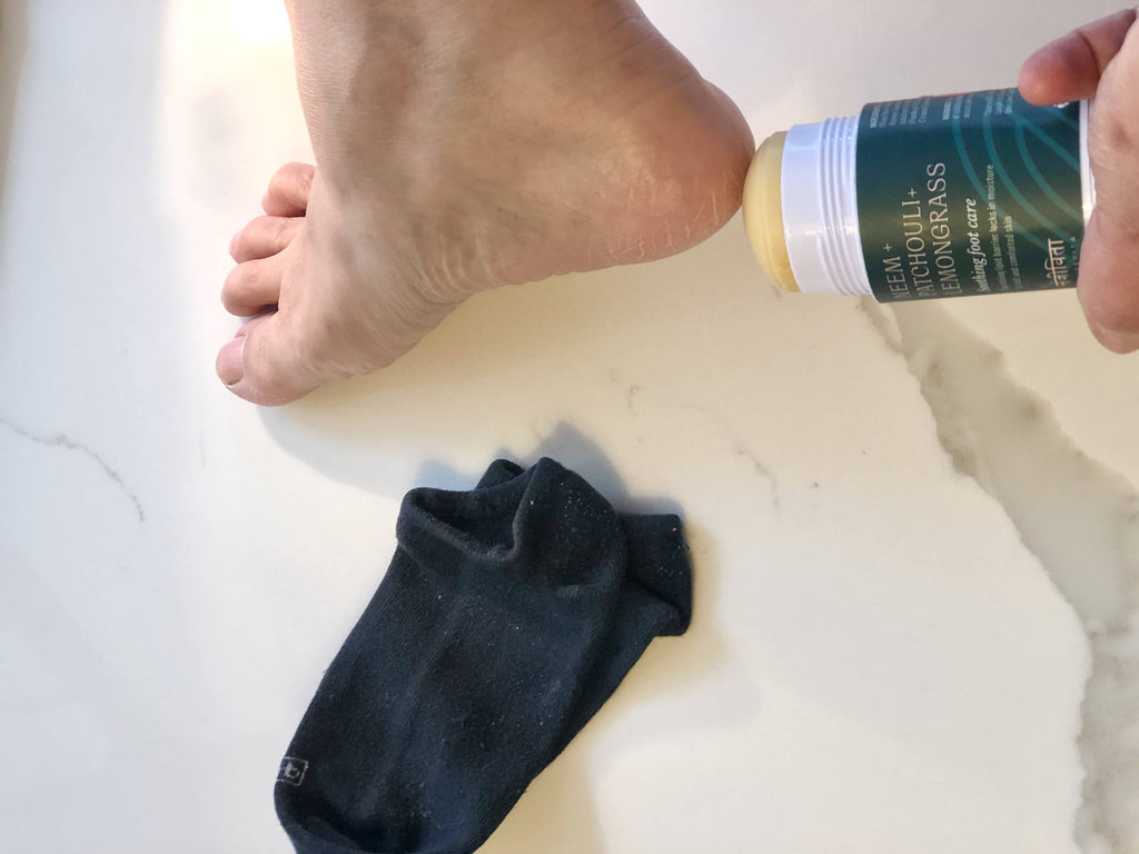 Cracked Feet Dry Feet DIY Self Care Foot Cream