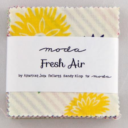 Moda Mini Charm Squares Fresh Air