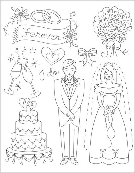 Sublime Stitching Embroidery Pattern - Wedding Wishes