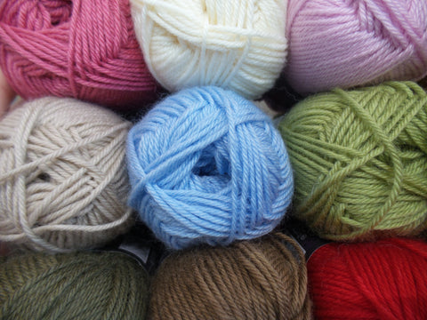 Bergere de France DK Knitting Yarn - Ideal Various Colours