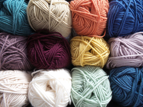 Debbie Bliss Baby Cashmerino Knitting Yarn Various Colours