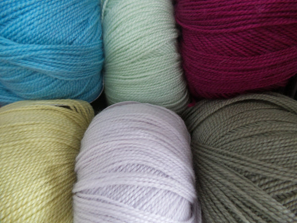 Debbie Bliss Rialto Lace Weight Yarn 02 - Various Colours