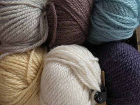 Erika Knight British Blue Wool Various Colours