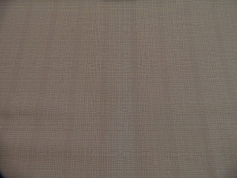 Makower Stitch Check Cream Fabric