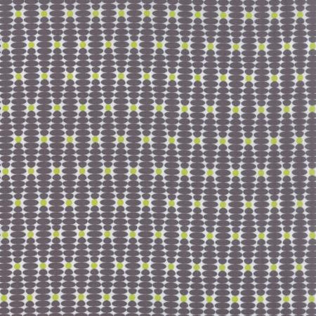 Moda For you Going Out Graphite Grey Fabric