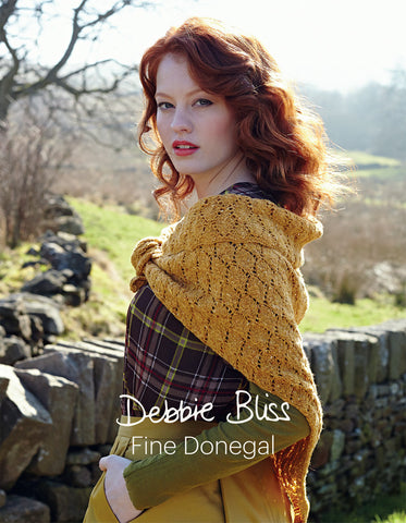 Debbie Bliss Fine Donegal Knitting Pattern Book